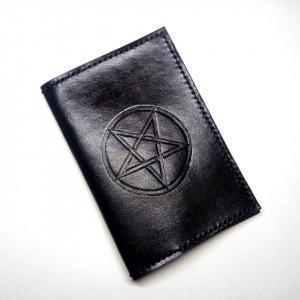 Baphomet обложка для паспорта
