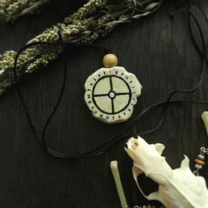 Солнечный крест амулет