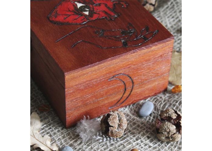 Ведьмино Сердце шкатулка для карт Таро, Рун
