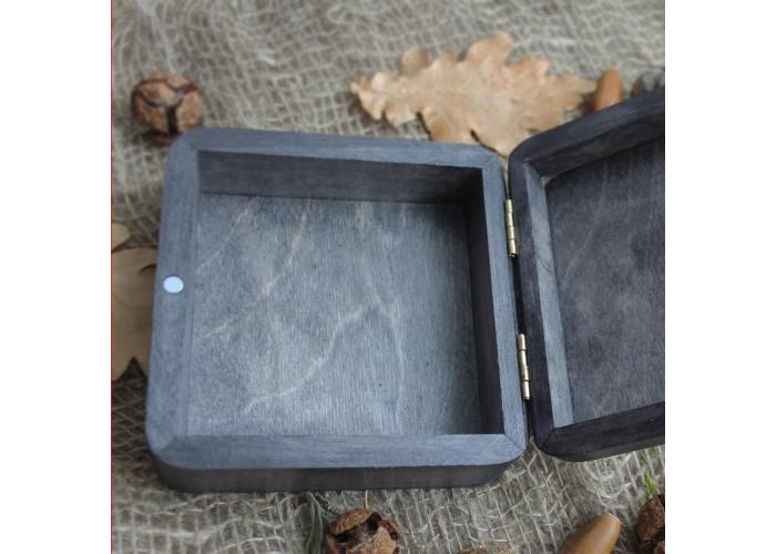 Solve et Coagula шкатулка ручной работы