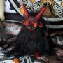 Азазель мини-кукла черно-красная