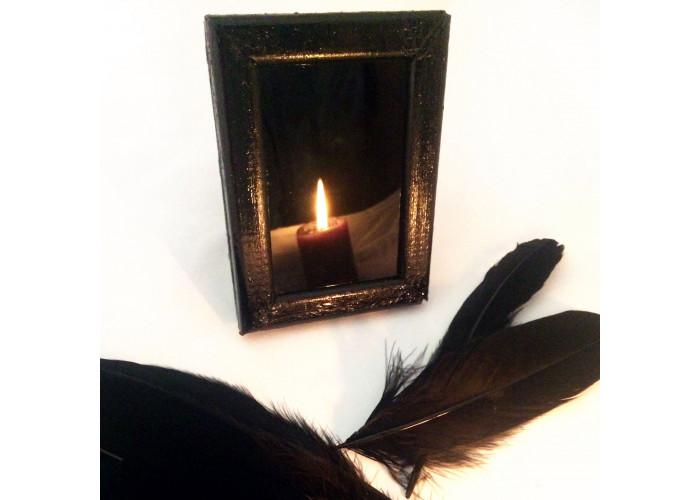 Зеркало черное малое