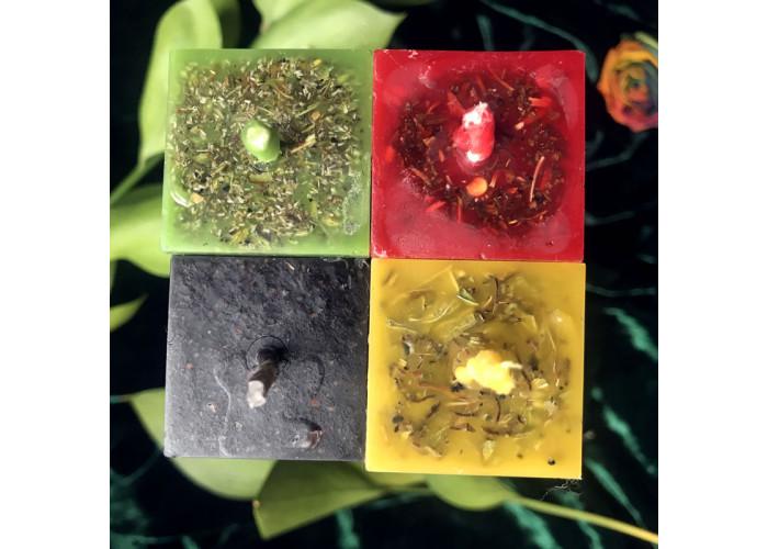 Четыре Всадника набор свечей восковых