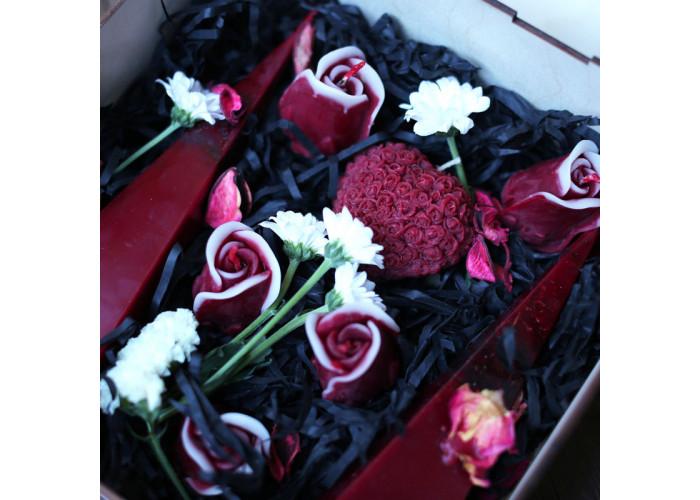 Объединение набор свечей восковых свадебный
