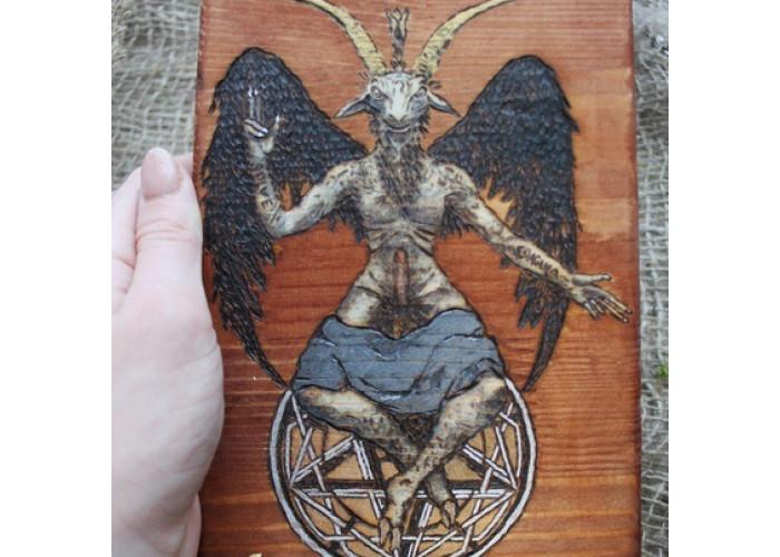 Hail Satan! Панно