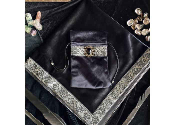 Алтарная скатерть и мешочек для карт Таро №2