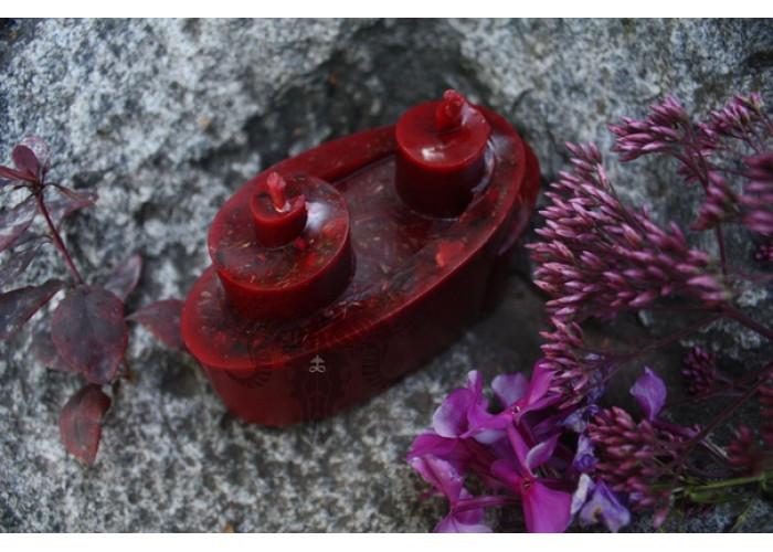 Муж и Жена свеча-ритуал восковая