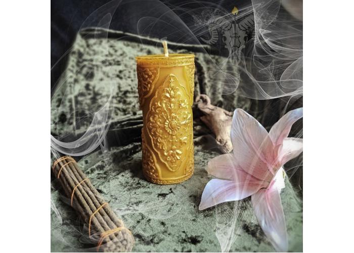Пески Времени свеча алтарная фигурная восковая