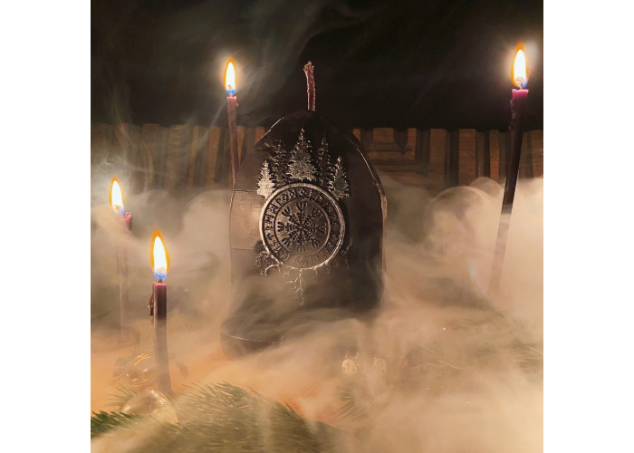 Портал Агисхьяльма свеча-ритуал восковая