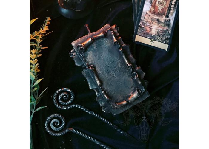 Свиток Желаний свеча фигурная восковая с кованым шилом
