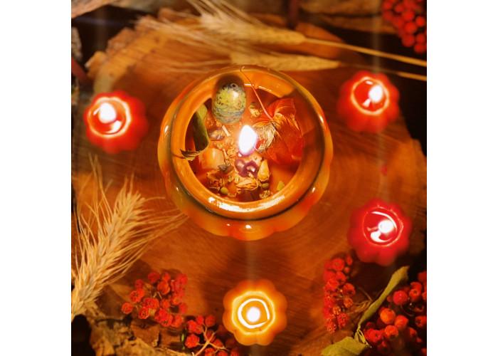 Тыквенная Запеканка свеча фигурная восковая