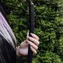 Черная свеча длинная 40 см