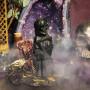 Госпожа Смерть свеча фигурная восковая