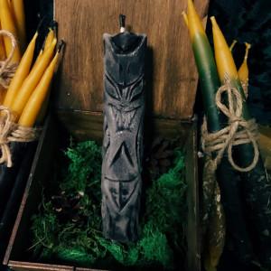Морок свеча-ритуал восковая