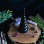 Вихрь свеча фигурная восковая