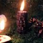 Мертвые Головы свеча-череп фигурная восковая