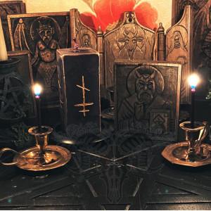 Бесу Абаре свеча восковая