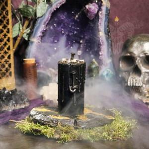 Узел Избавления свеча-ритуал восковая