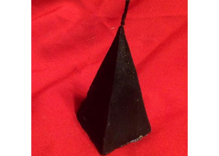 Пирамида свеча фигурная малая восковая