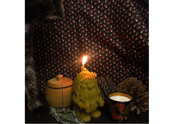 Дух Дома. Домовой свеча фигурная восковая