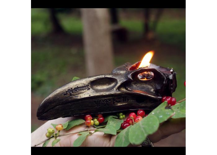 Вещий Ворон свеча фигурная восковая