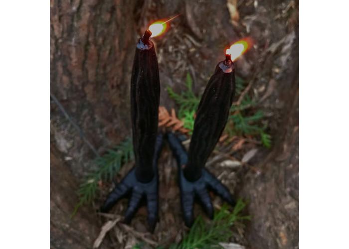 Курья Лапа свеча фигурная восковая