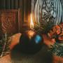 Сфера свеча фигурная восковая