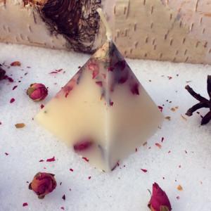 Молоко Имболка свеча фигурная восковая