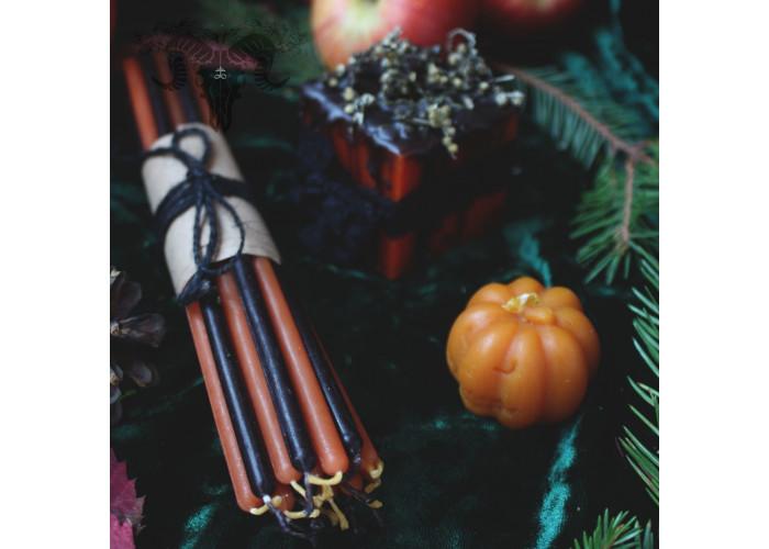 Духи Самайна набор свечей фигурных восковых