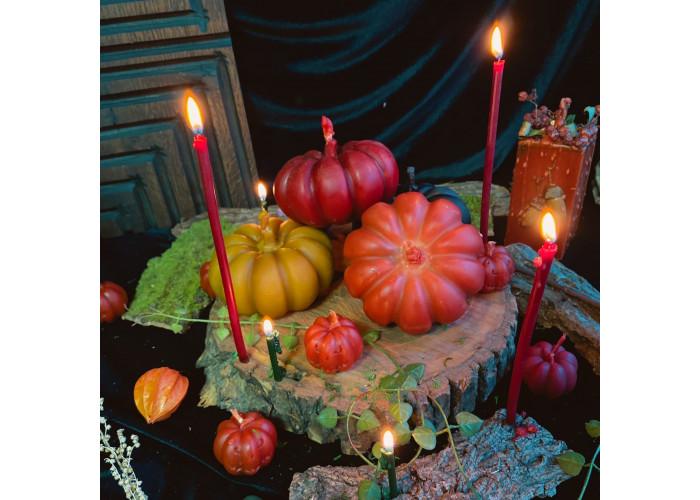 Тыква-Великан свеча фигурная восковая