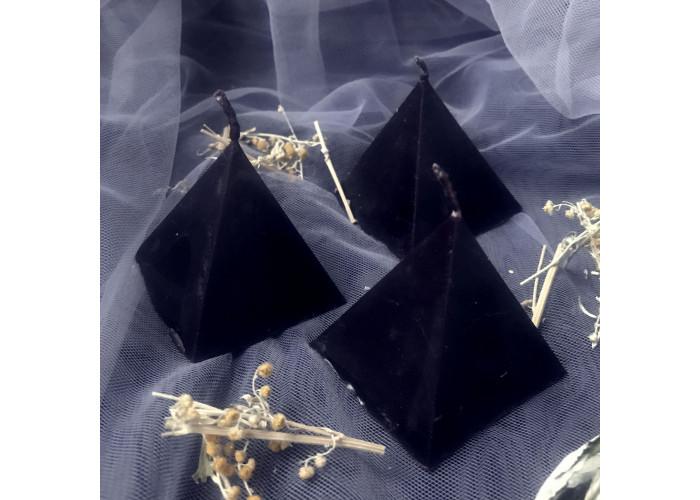Пирамидка Полыни свеча фигурная восковая