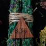 Тройной Магнит свеча-ритуал денежная с амулетом