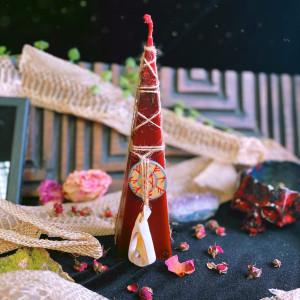 Королевская Кобра свеча-ритуал с амулетом