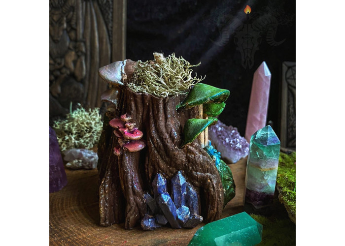 Лесное Сокровище свеча-ритуал фигурная восковая