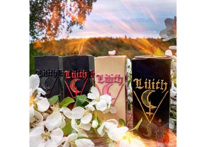 Лилит. Темная Мать алтарная свеча
