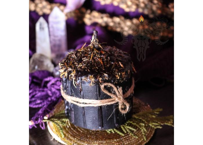 Щит свеча-ритуал восковая