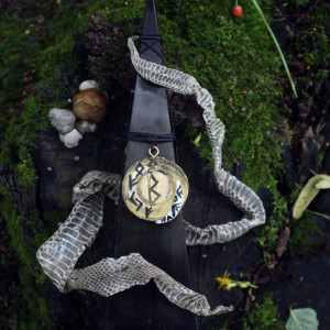 Черная Кобра. Великий Полоз свеча-ритуал с амулетом