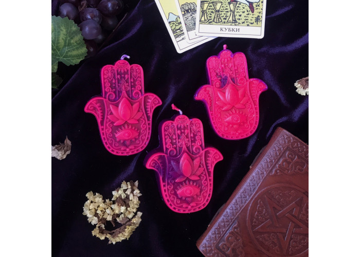 Хамса свеча-ритуал восковая