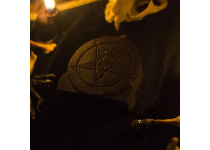 Печать Бафомета свеча фигурная восковая