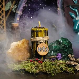 Жизненный Путь свеча-ритуал с амулетом