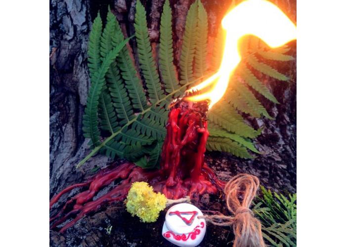 Пламя Воплощения свеча-ритуал восковая