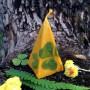 Золотой Клевер свеча-ритуал восковая
