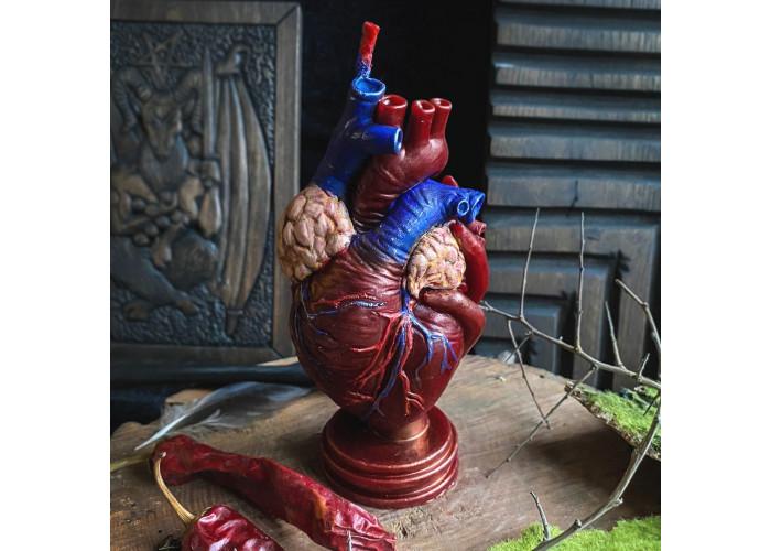 Вольное Сердце свеча-ритуал восковая