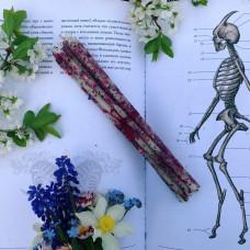 Шиповник тонкие свечи цветочные восковые