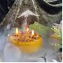 Лучи Солнца свеча фигурная восковая