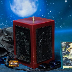 Императрица свеча-ритуал восковая
