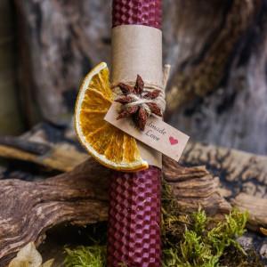 Глинтвейн свеча из вощины