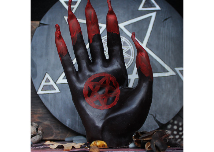 Левого Пути свеча-ритуал