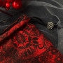 Мешочки для Таро или Рун. Красный Узор №2