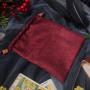 Мешочки для Таро или Рун. Красный Узор №3